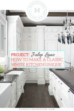 A luxury white kitchen featuring Clive Christian cabinetry in Kentucky - designed by Heather Hungeling. A great example of how to make a traditional white kitchen interesting and unique with luxury details. Luxury Kitchens, Cool Kitchens, Dream Kitchens, Living Room Kitchen, Kitchen Decor, Kitchen Colors, Rustic Kitchen, Diy Kitchen, Kitchen Ideas