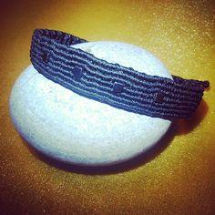 HEMATITE Cubes CouReLou Style Bracelet