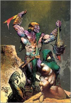 Simon Bisley  (born 4 March 1962) is a British comics artist best known for his 1990s work on ABC Warriors, Lobo and Sláine. His style, r...