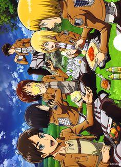 Shingeki no Lunch (PNG 画像, 500x691 px)