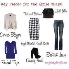 """Key Pieces for the Apple Shape"" by Jalisa Giron"