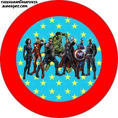 Imprimibles de los Vengadores 3. | Ideas y material gratis para fiestas y celebraciones Oh My Fiesta!