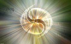 Fonds d'écran Art - Numérique Style Zen l'alliance du ying et du yang