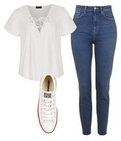 """Untitled #6418"" by ana-sheeran-styles ❤ liked on Polyvore featuring moda, Ally Fashion e Converse"