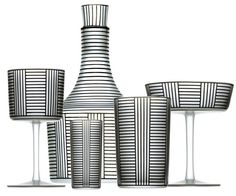 Can you believe these are from 1912? Completely modern and completely gorgeous. Serie B by Josef Hoffmann.