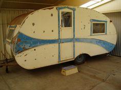 Vintage Paramount Timber Caravan 1935, Australian. ebay Oz.