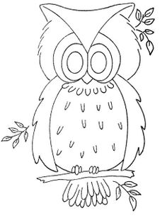 6 1975 WB owl by love to sew, via Flickr