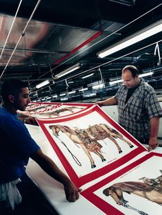 Production line: Save me your misprints?: Hermès scarves