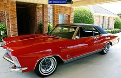 1965 Buick Riviera GS! Wish I still had mine. Sold it for $2k in the late '70's and now it's worth at least ten times that!!! :(