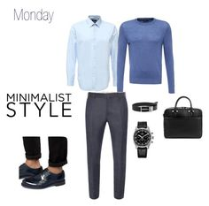 """""""Men Monday"""" by vemavi on Polyvore featuring картины"""