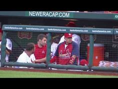 St Louis Cardinals Dugout Dancing - YouTube (courtesy of @Laura Jayson Jayson Jayson Jayson T)