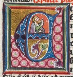 Schaffhausen, Ministerialbibliothek, Min. 6:   Biblia sacra · premier quart du XIVe siècle Langue:Latin (http://www.e-codices.unifr.ch/fr/list/one/sbs/min0006)