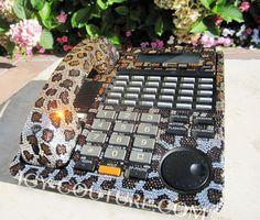 Leopard Print - ICY COUTURE bedazzled with Swarovski Crystal Bling  Home Office Desk Phone