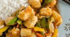 Długo nie lubiłam sosu słodko-kwaśnego, bo kojarzył mi się z tym słoiczkowym okropieństwem Wujka Bena :P  Dopiero praca w chińskiej knajpie... Potato Salad, Potatoes, Ethnic Recipes, Potato