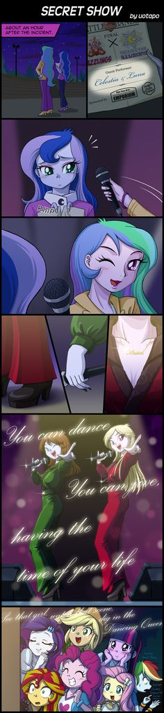 SECRET SHOW by uotapo.deviantart.com on @deviantART