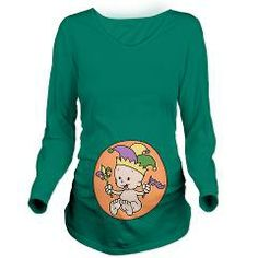 ViceVoices original design - King Cake Baby Long Sleeve Maternity T-Shirt > King Cake Baby > kidlings