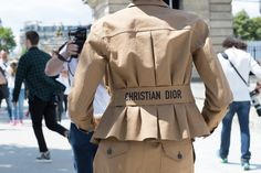 Paris Couture Fashion Week Street Style Fall 2017 Day 2 - The Impression