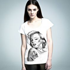 Marilyn M. #tshirt from #PornCorn. #Awesome #tshirts by #NOH8 Syndicate! Be #original and in #fashion!