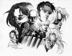 Jim Cheung. Young Avengers Commission (2008)