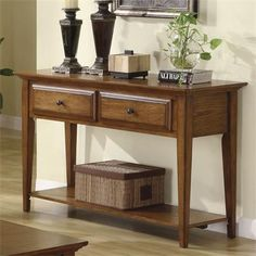 Riverside Furniture – Oak Ridge Console Table