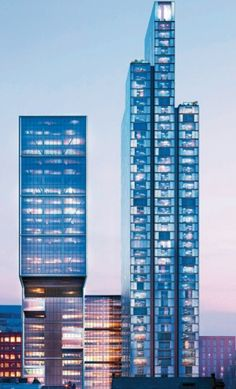Designer: Foster + Partners  Title: Broadgate Tower Medium: Architecture, structural steel with glass facade