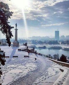 Parque de Kalemegdan en Belgrado