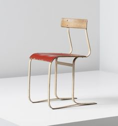 Sold! 100 Design Relics from Niemeyer, Le Corbusier, FLW and More,Marcel Breuer: Chair, model no. WB 301, circa 1933-1934. Image Courtesy of Phillips