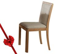 Stockholm Fabric Upholstered Back Dining Chair :: Arighi Bianchi