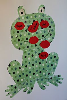 Valentine's Day party idea - Pin the Kiss on the Frog  **Project a frog image on the SMART Board and give each student a pair of lips