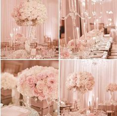 Weddbook is a content discovery engine mostly specialized on wedding concept. You can collect images, videos or articles you discovered organize them, add your own ideas to your collections and share with other people - Dream blush wedding! Pink Wedding Theme, Wedding 2017, Wedding Wishes, Wedding Themes, Wedding Table, Floral Wedding, Wedding Colors, Our Wedding, Wedding Flowers