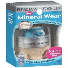 Physicians Formula Mineral Wear Airbrushing Loose Powder SPF 30, 7314 Translucent Light, 0.35 oz - Walmart.com