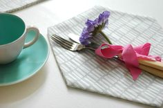 How to Make Your Own Hexagonal Placemats