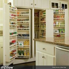 The Ultimate Snack Closet | 31 Remodeling Ideas You Obviously Need In Your Future Home