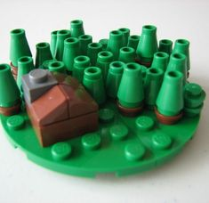 A working 3D Settlers of Catan set | 24 Unexpectedly Awesome Lego Creations