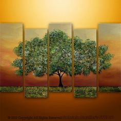 Multipanel tree