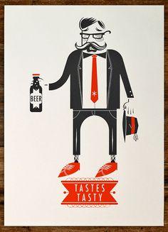 Beer Tastes Tasty - Alex Perez