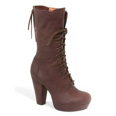 Vogue Shadow Sister Laced-up Heeled Boot...do I really need to express how I feel about these boots??