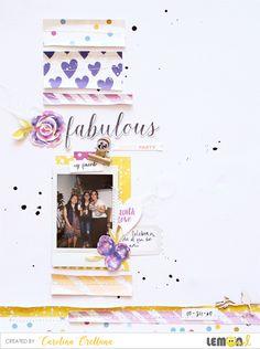 Lemon Owl: Fabulous layout by Cari