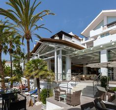 The Sea Grill Restaurant at Puente Romano, Marbella, Spain Marbella Spain, Grill Restaurant, Timber Structure, Group Of Companies, Whitewash, Relax, Rustic, Architecture, Arquitetura