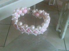 soraya's laboratory diy medieval bracelet bracciale medievale  pink coral corallo rosa