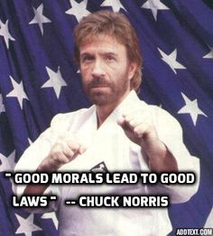 Chuck Norris - Devout Christian, conservative, American martial artist, actor, film producer and screenwriter. After serving in the United States Air Force, he began his rise to fame as a martial artist, and has since founded his own school, Chun Kuk Do.
