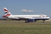 G-GATM British Airways Airbus A320-232