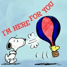 I'm here for you