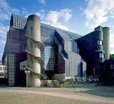 "germanpostwarmodern: "" Diocesan Museum (1968-75) in Paderborn, Germany, by Gottfried Böhm """