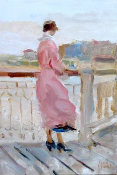 bofransson:  Isaac Israëls-Dame in rose-Boulevard