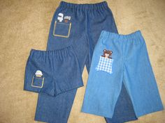 Charity Sewing - Love the peeker pockets