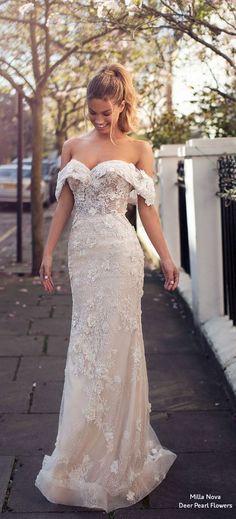 d637f98d62ff813 Milla Nova Blooming London Wedding Dresses 2019. Потрясающие Свадебные  ПлатьяДизайнерские ...