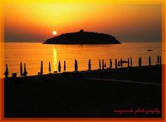 Sunset in Diamante, Calabria_ Italy