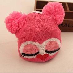 Autumn And Winter Baby Animal Hats Cute Owl Cotton Hats For Kids $15.00 #Lovejoynet #Animal #Hats