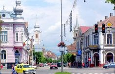 Hungarian: Beszterce) is the capital City of Bistrita-Nasaud County , Transylvania, Ro. Largest Countries, I Want To Travel, Capital City, Places To See, Old Things, Street View, Dracula, Country, Bucharest
